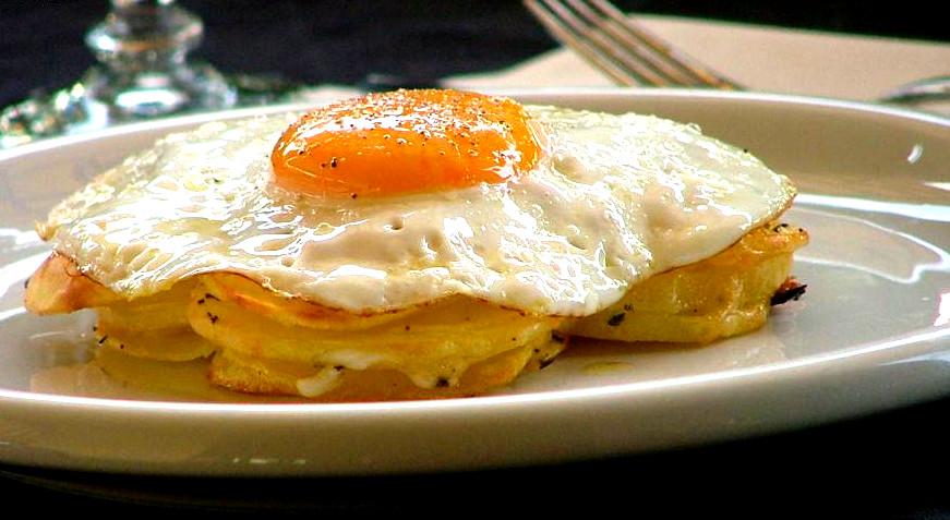 uova e caciocavallo di Agnone