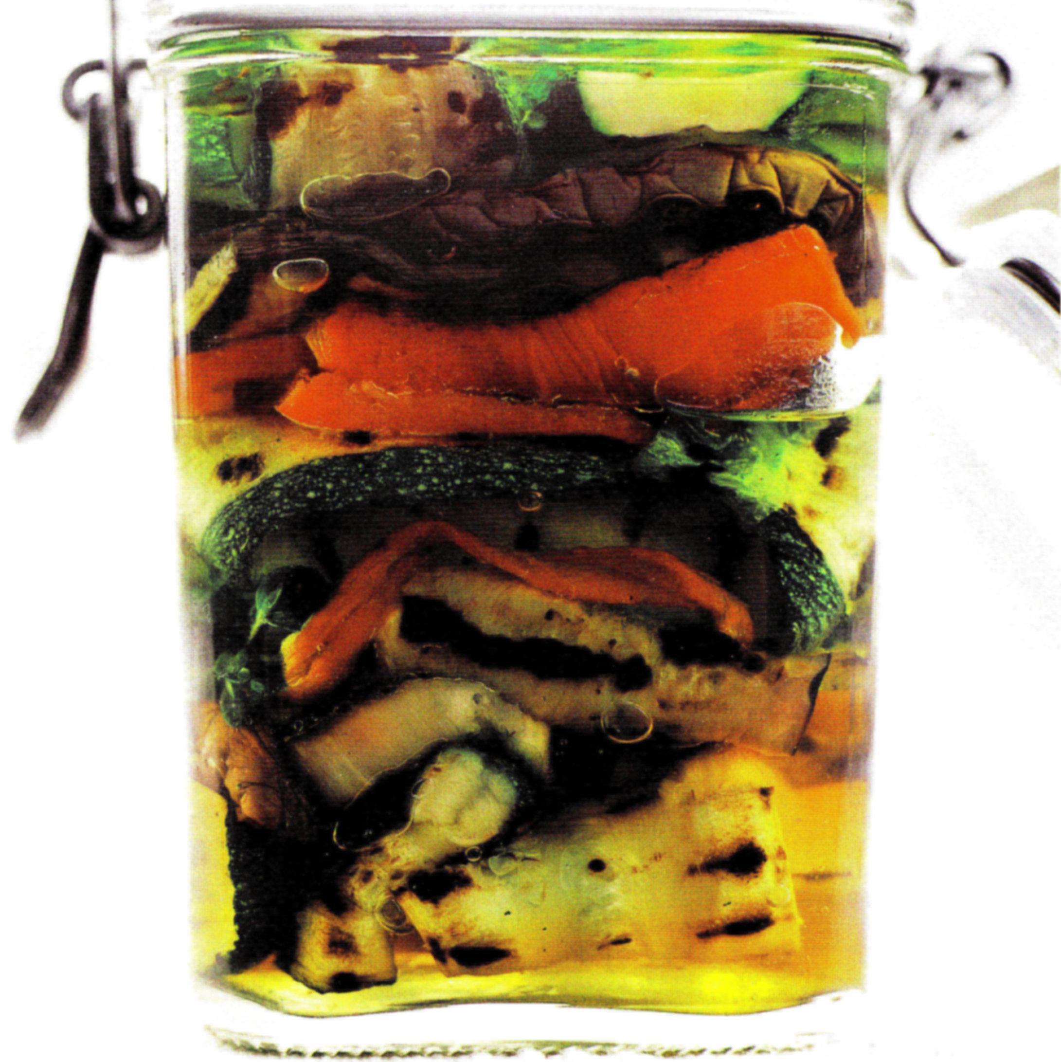verdure alla griglia di scorta
