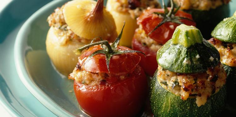 verdure ripiene alla provenzale