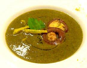 zuppa di lenticchie e guanciale